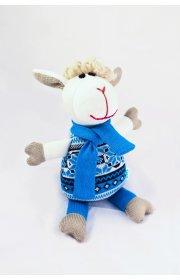 Этно Овечка - цвет синий