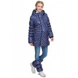 Куртка 2в1 зимняя Мальта сердечки для беременных