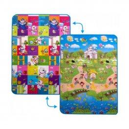 Игровой детский коврик - Медвежата и прогулка с друзьями