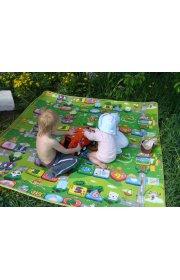 Тёплый развивающий коврик - Babypol. Маленькая страна