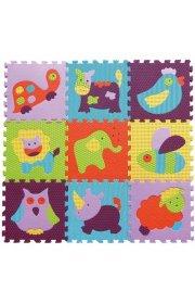 Детский коврик-пазл -Веселый зоопарк