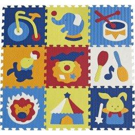 Детский коврик пазл  - Удивительный цирк