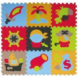 Детский коврик-пазл - Приключения пиратов. Baby Great