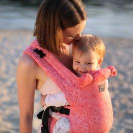 Эрго рюкзак Love and Carry DLIGHT из шарфовой ткани - Флора