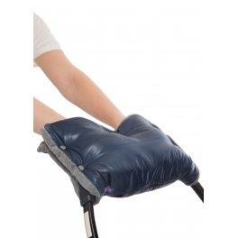 Муфта для рук на коляску синяя